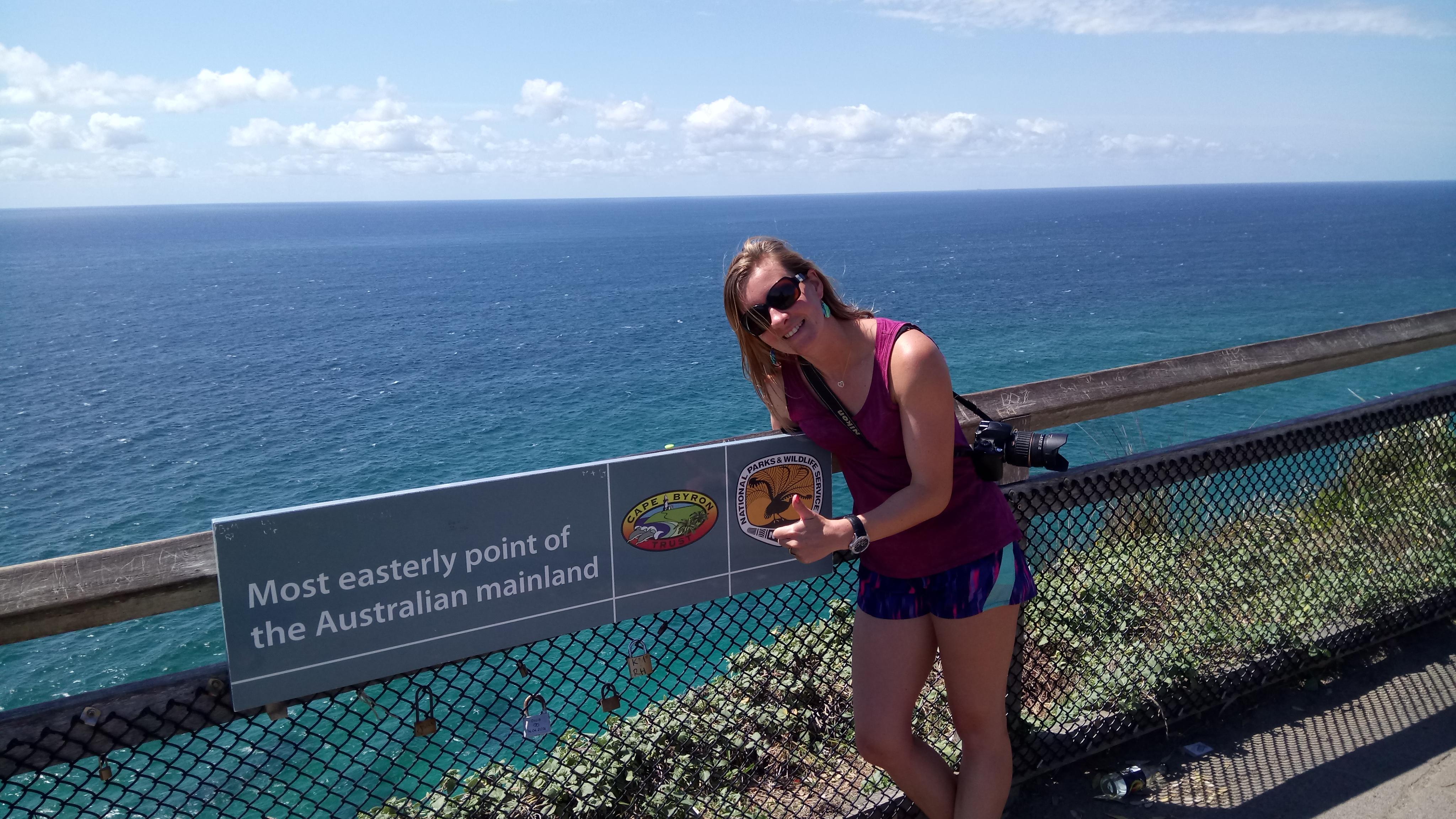 Cape Byron, het meest oostelijke punt van Oz